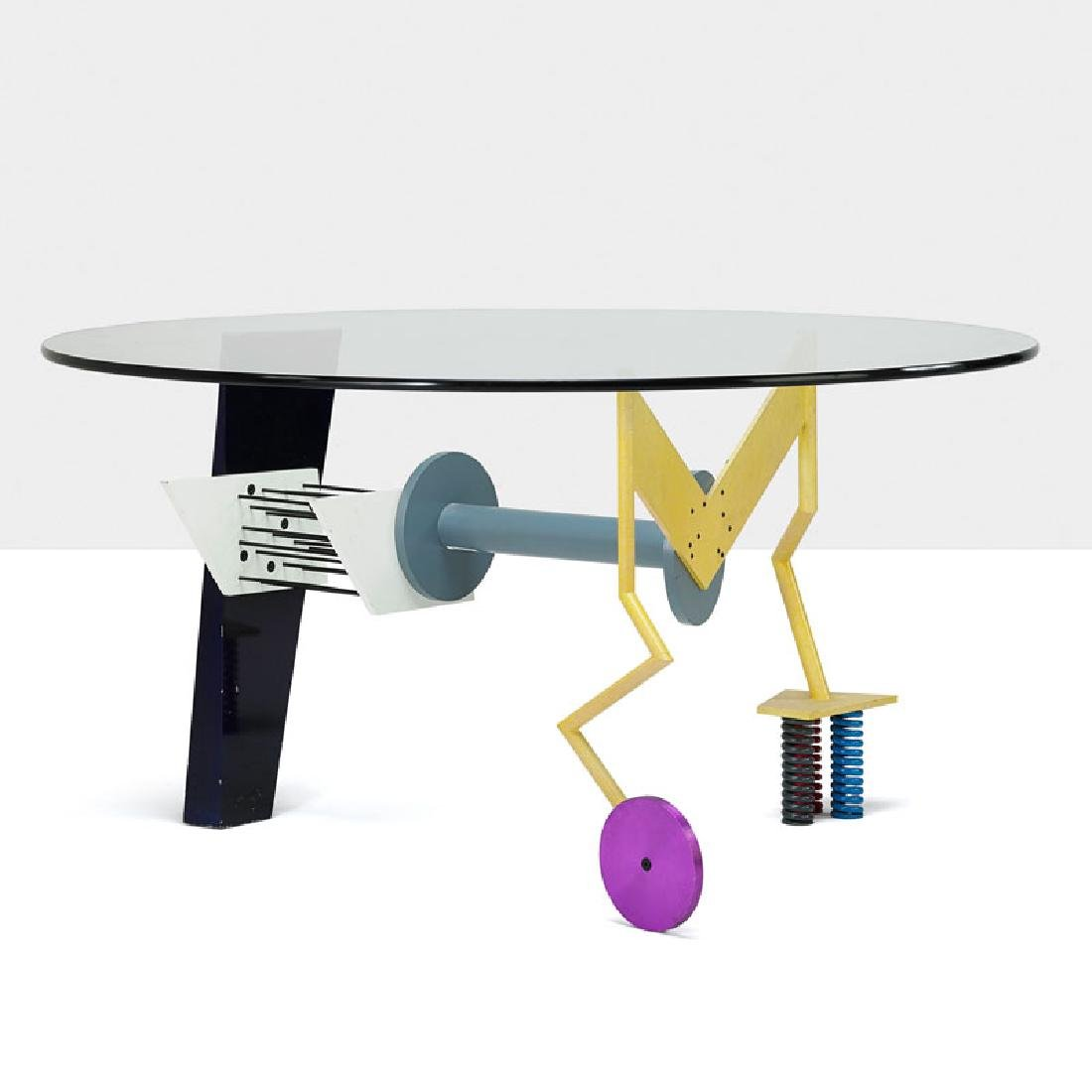 PETER SHIRE; MEMPHIS Dining table