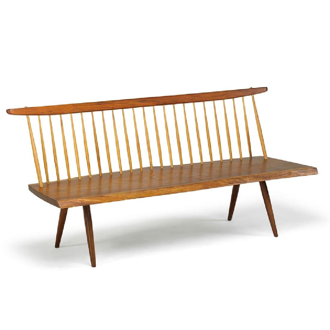 GEORGE NAKASHIMA Bench with back