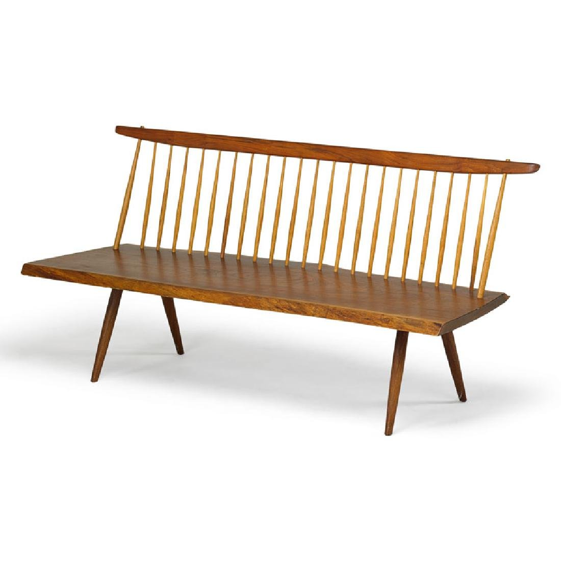 GEORGE NAKASHIMA Bench with back - 2