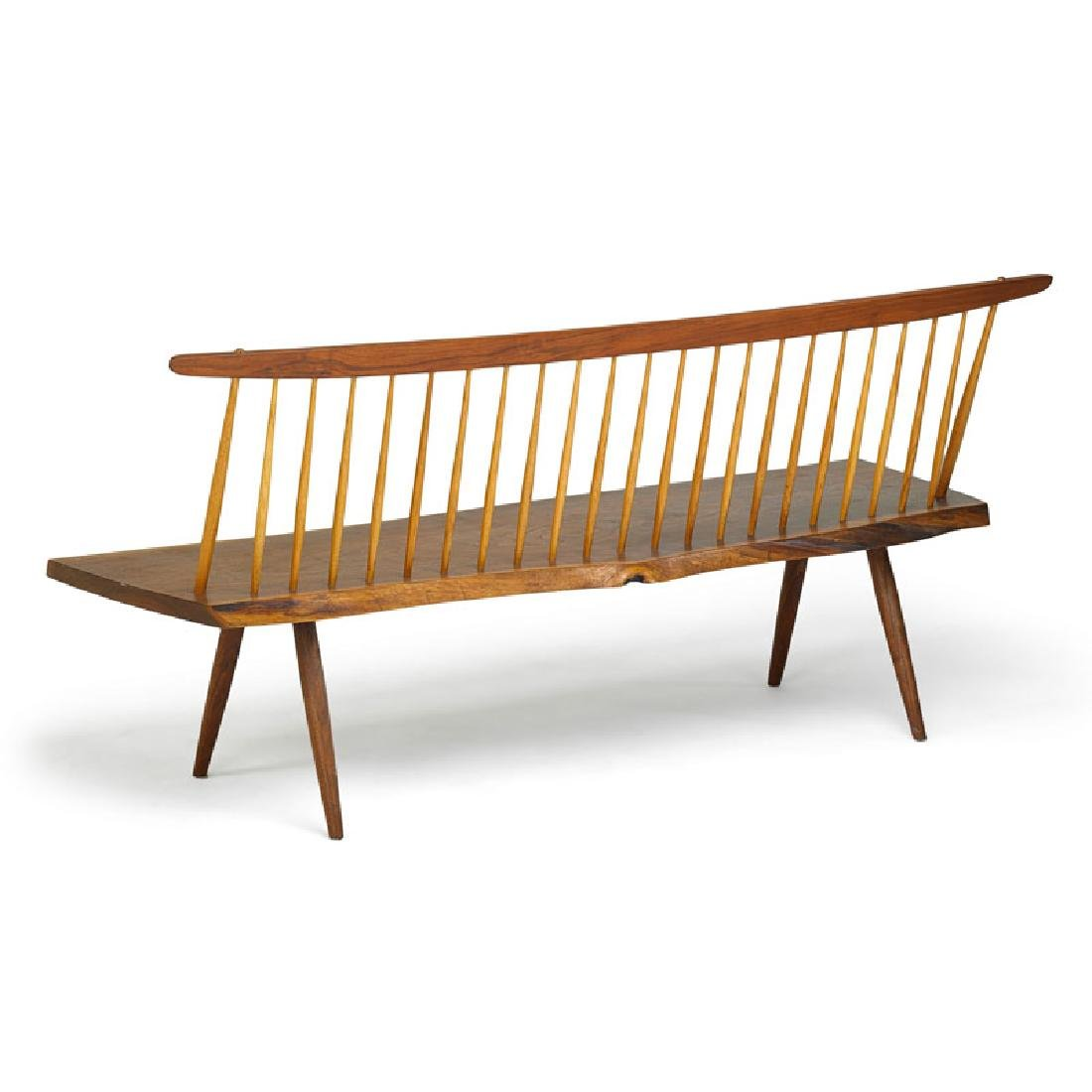 GEORGE NAKASHIMA Bench with back - 3