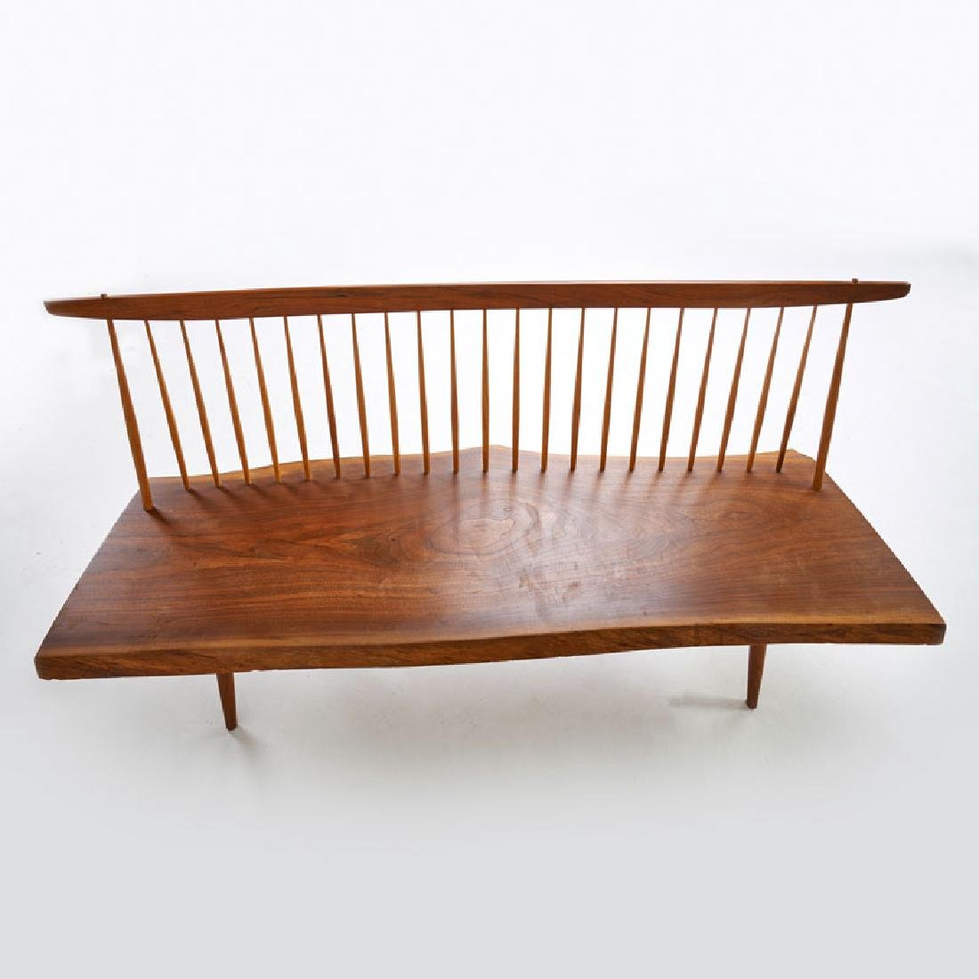 GEORGE NAKASHIMA Bench with back - 4