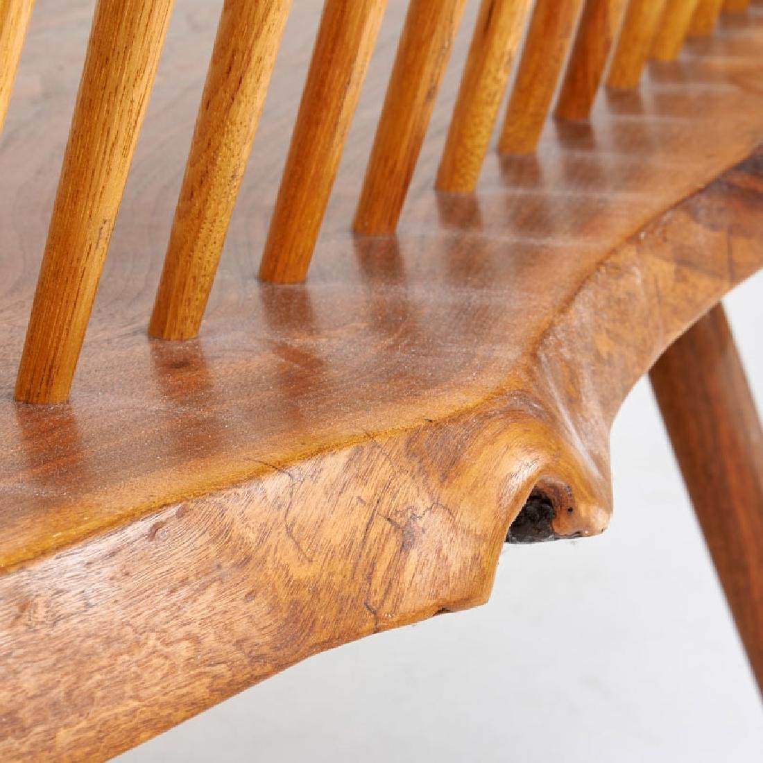 GEORGE NAKASHIMA Bench with back - 8