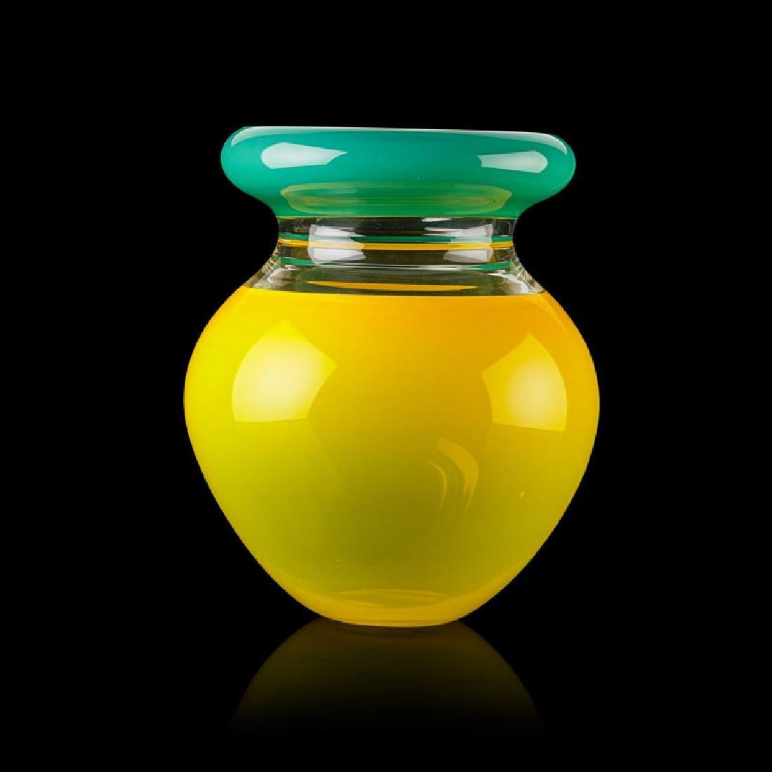 SONJA BLOMDAHL Incalmo glass vessel - 2