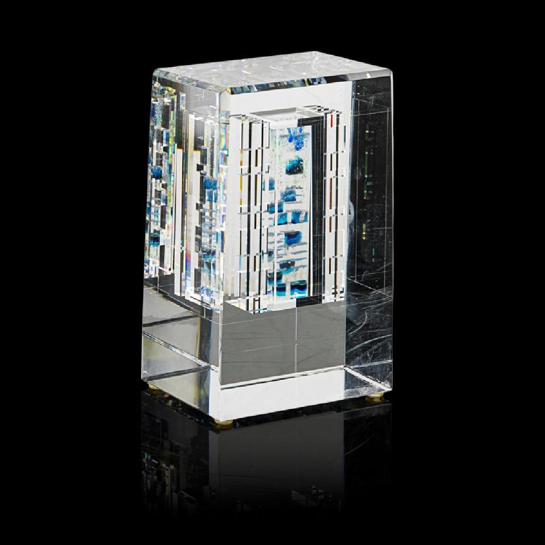 JON KUHN Glass sculpture - 2