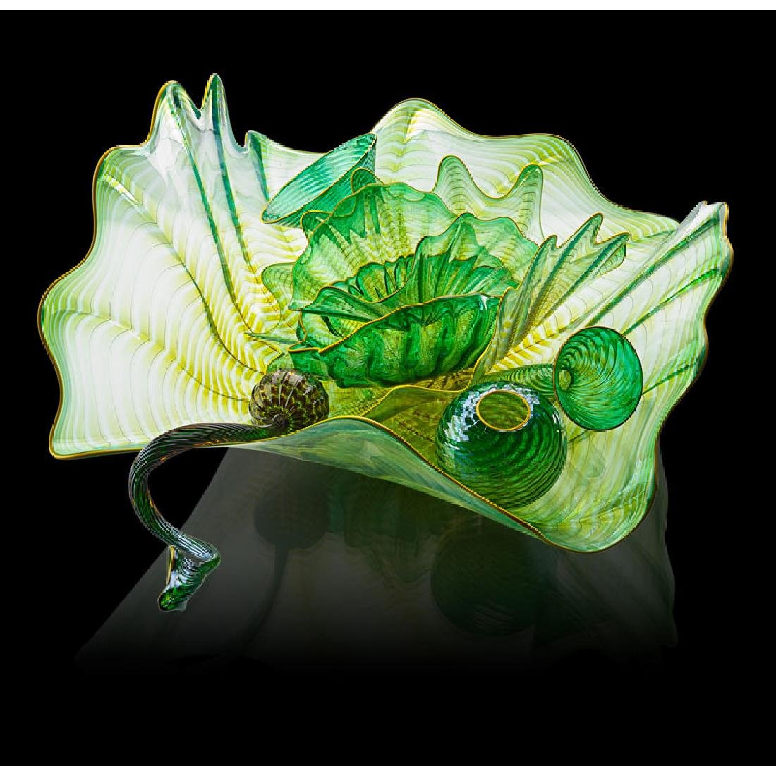 DALE CHIHULY Eight-piece Persian Set - 2