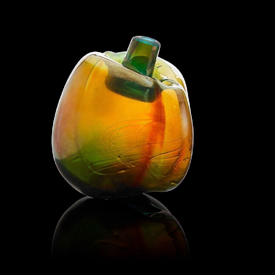 MARVIN LIPOFSKY Glass sculpture