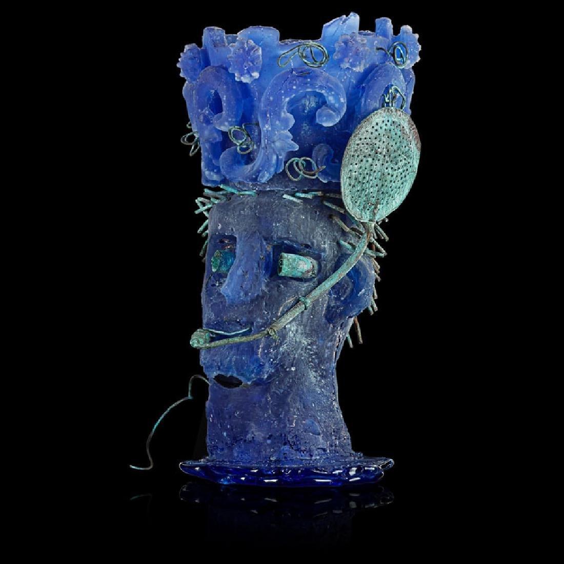 HANK MURTA ADAMS Glass sculpture