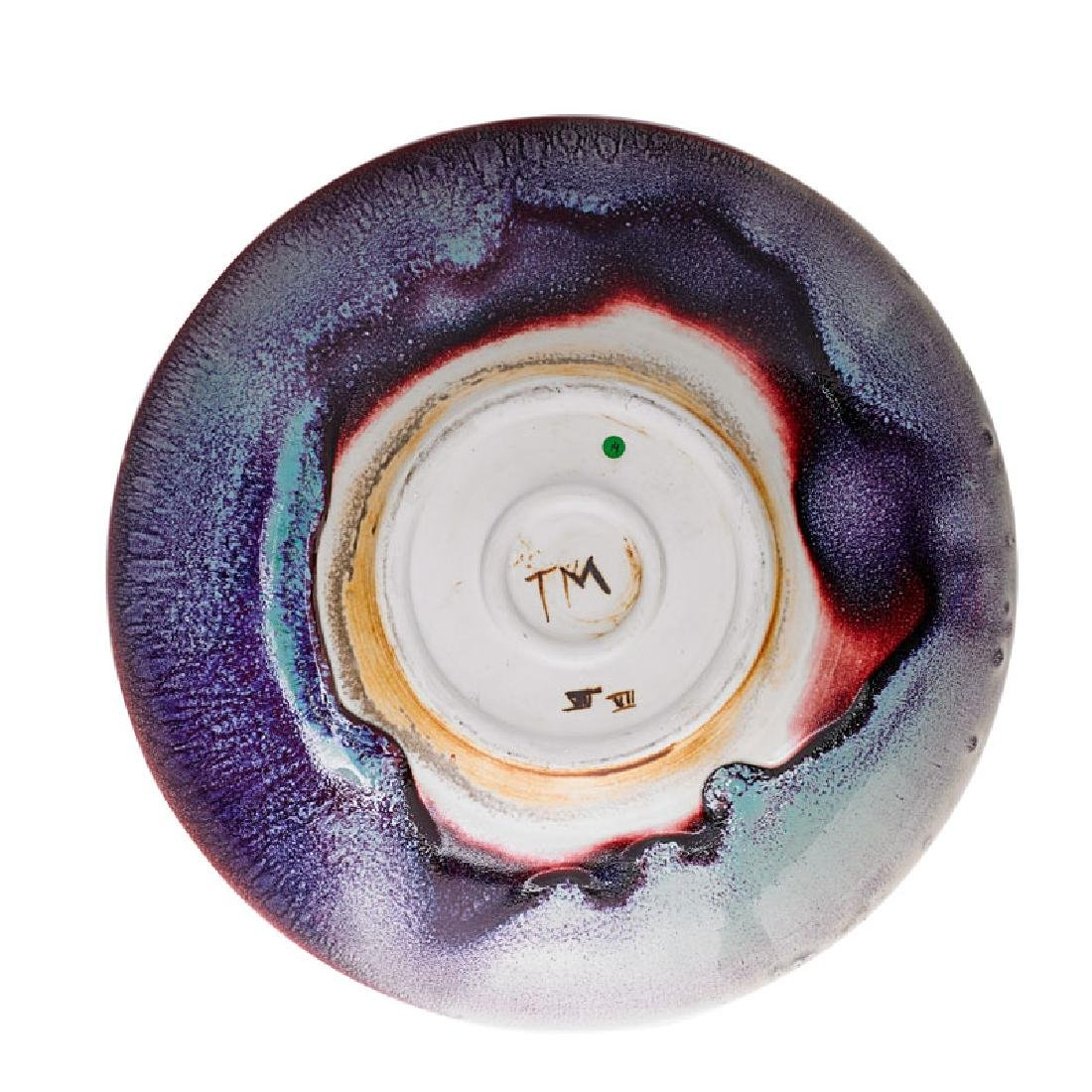 TOINI MUONA Glazed porcelain charger - 3