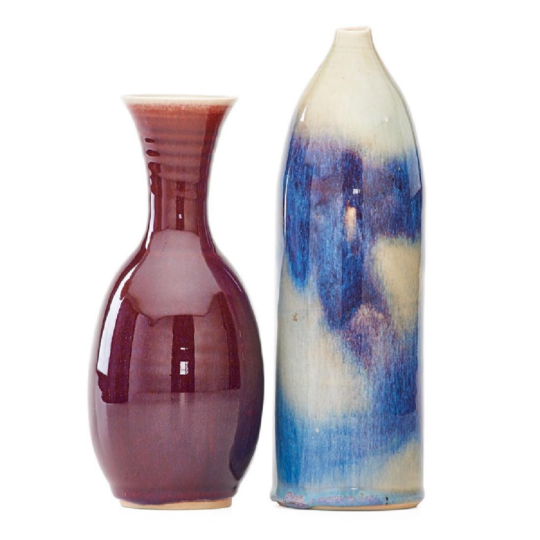 BROTHER THOMAS BEZANSON Two vases - 2