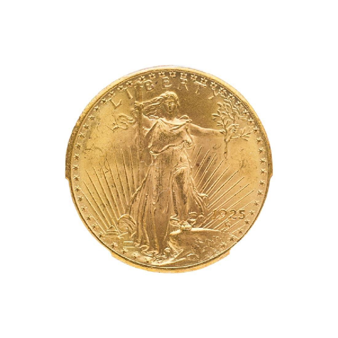 1925 ST. GAUDENS $20.00 GOLD COIN