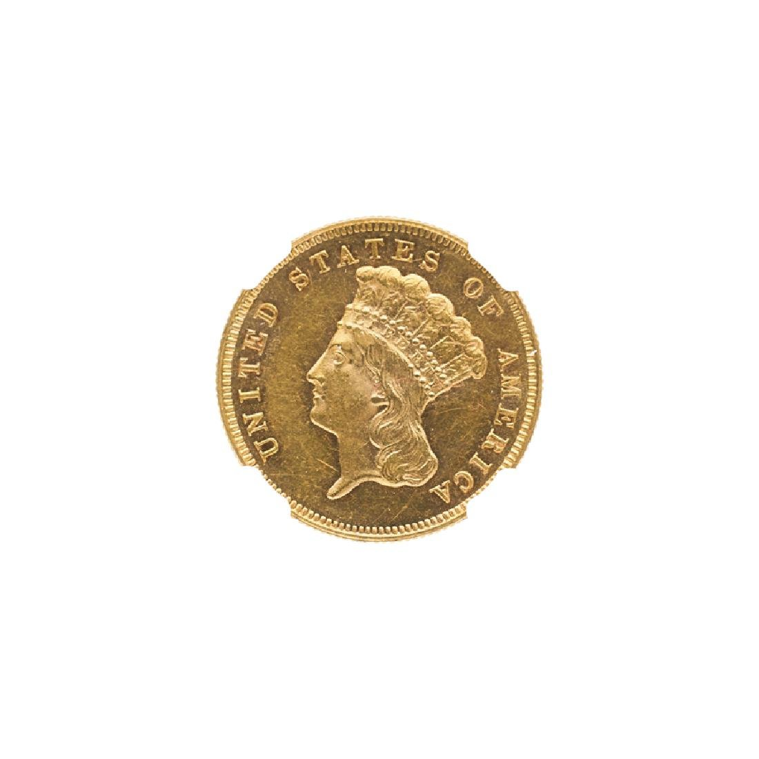 U.S. 1881 $3.00 GOLD COIN