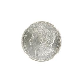 1904-S MORGAN SILVER DOLLAR COIN