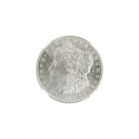 1904-S MORGAN SILVER DOLLAR COIN