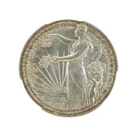 1915-S PAN PACIFIC COMMEMORATIVE 50C COIN
