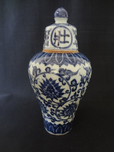 Ming Dynasty Xuande Period Wine Vase
