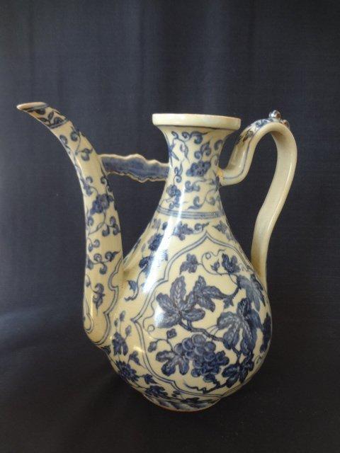 Ming Dynasty Xuande Period Wine Ewer