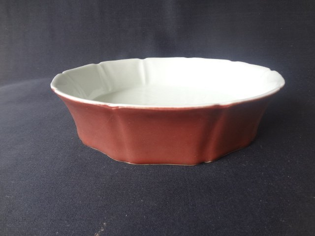 Ming Dynasty Xuande Period Red Glaze Brush Washer