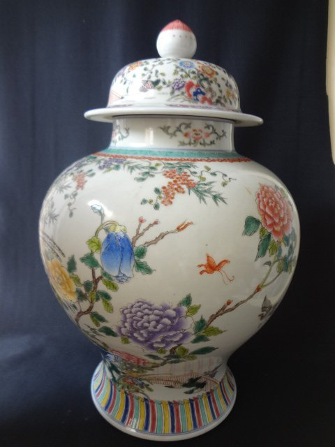 $8 Magnificient Qing Dynasty Kangxi Famille Rose Guan