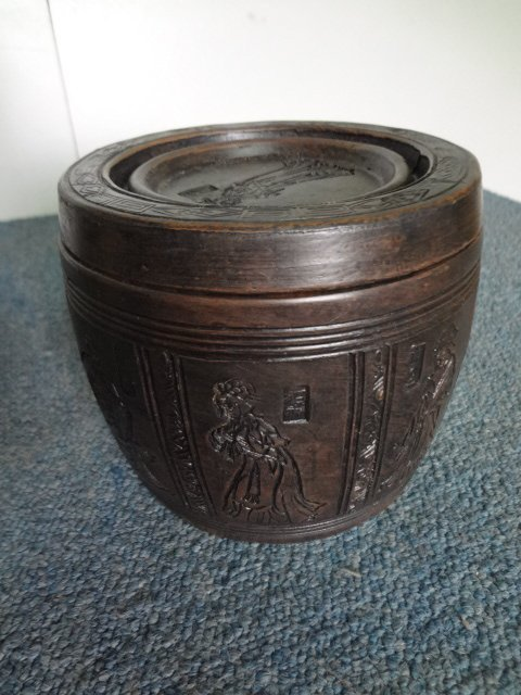 19th Century Zisha Pottery Tea Container