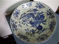 Ming Dynasty Xuande Period Parrot Charger