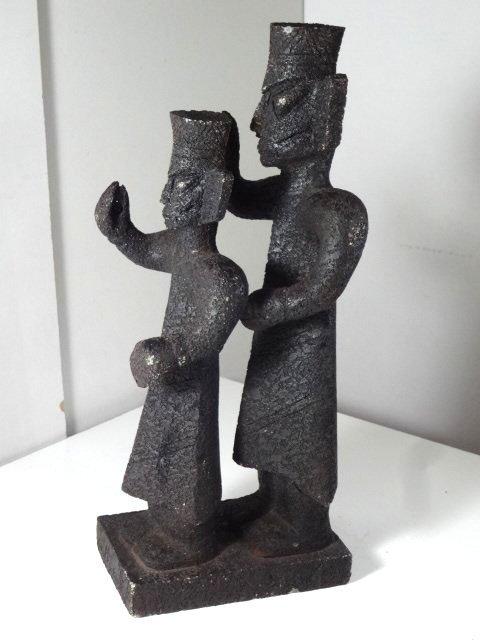 Rare Sanxingdui Jade Figures of Ancient Aliens