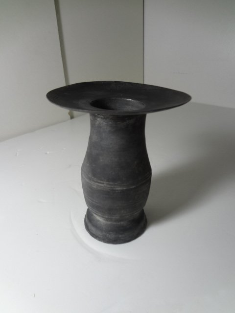 Rare 5000-years-old Longshan Culture Black Clay Cup