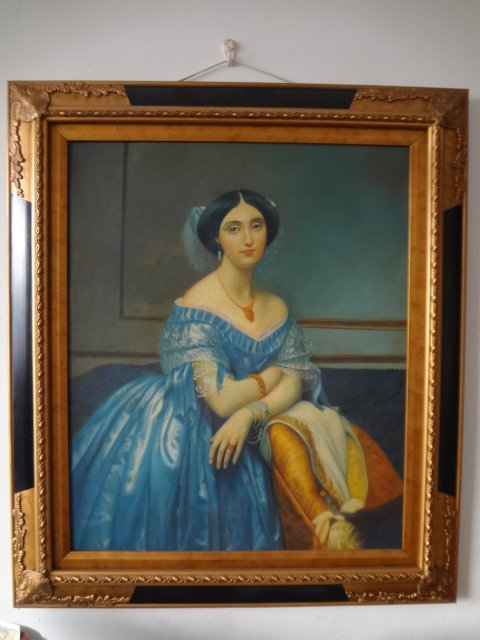 Original Oil Painting on Canvas of  Portrait of Lady