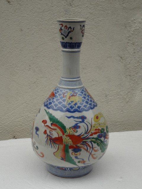 Elegant Qing Dynasty Kangxi Period Doucai Vase