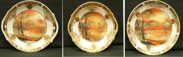 4: NIPPON HAND PAINTED & GILT PORCELAINS