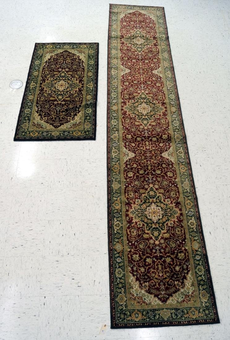 "LOT (2) ANGLO PERSIAN RUNNERS INCLUDING 2'7"" X 5'2"" &"