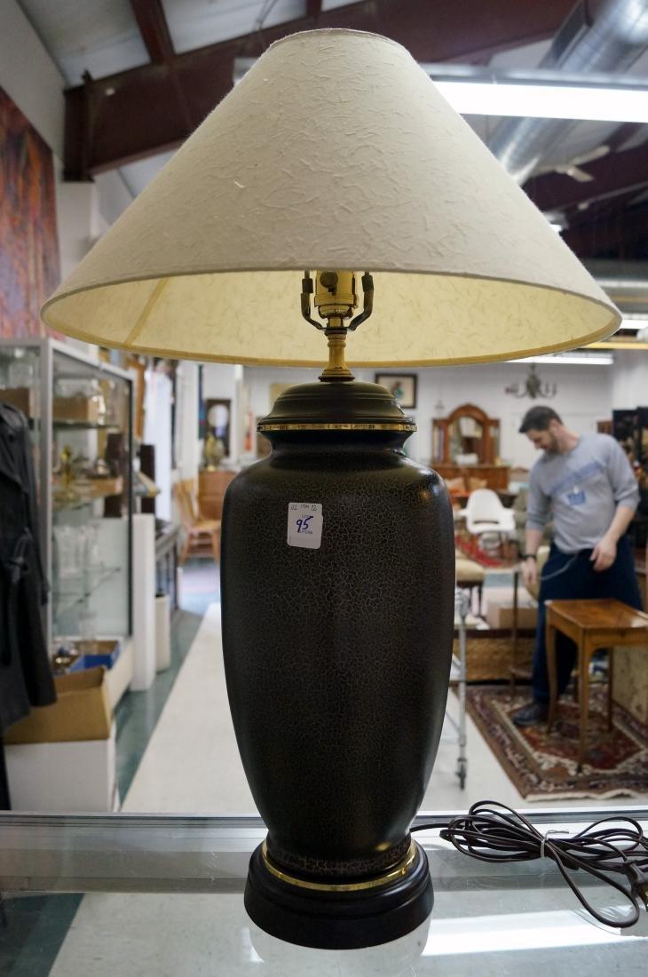 """KAISER KUHN DESIGNER TABLE LAMP. HEIGHT 31"""""""