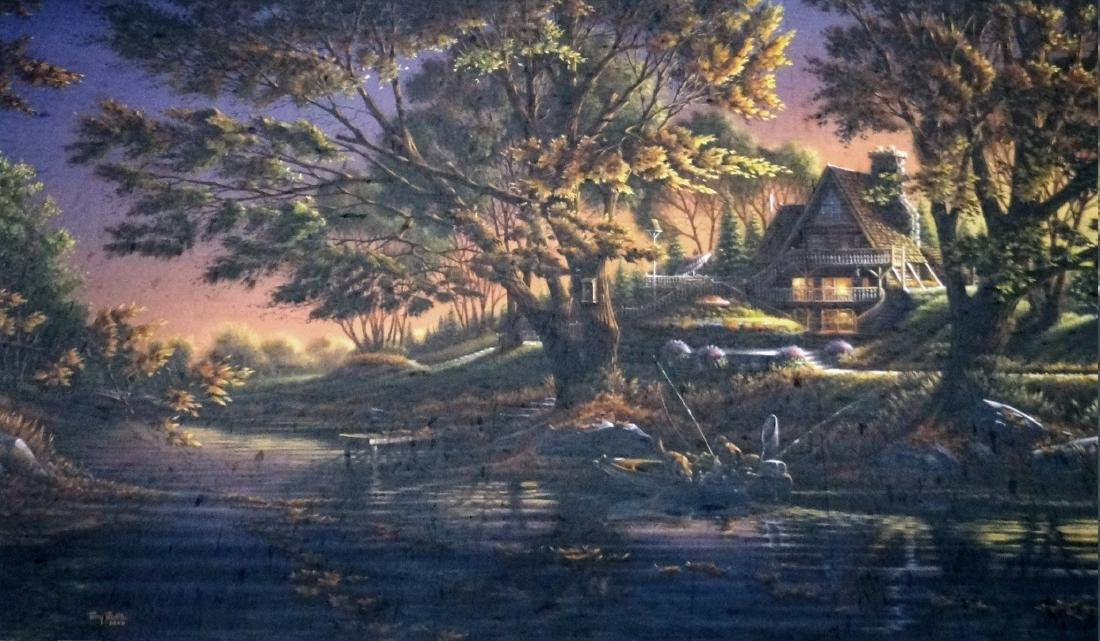 TERRY REDLIN (AMERICAN 1937-), OFFSET LITHOGRAPH,