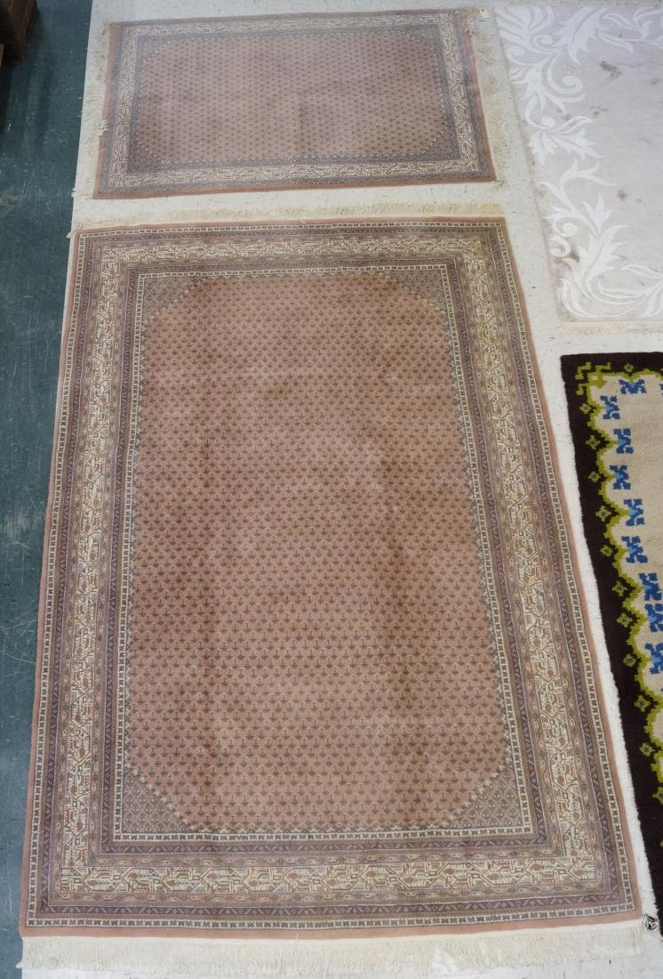 "SEMI-ANTIQUE INDO CARPET. 6'2"" X 9'1"""