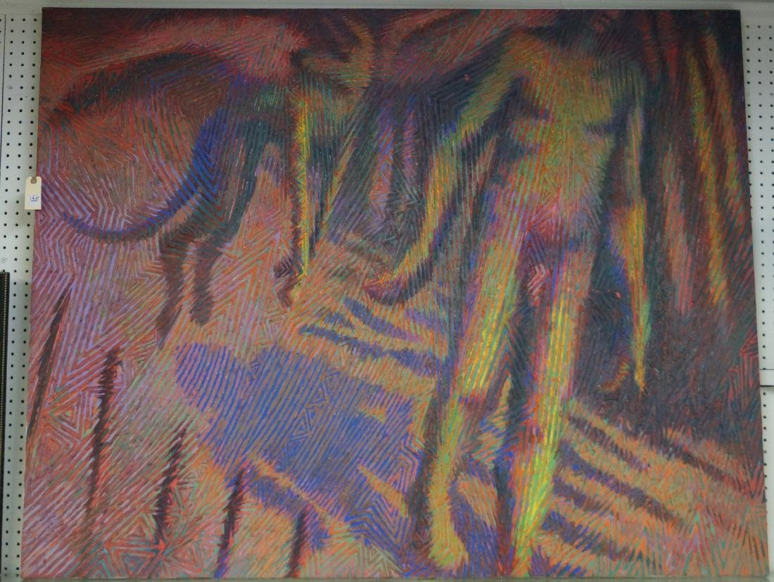 EVERETT M. ADELMAN (AMERICAN 1947-), OIL ON CANVAS,