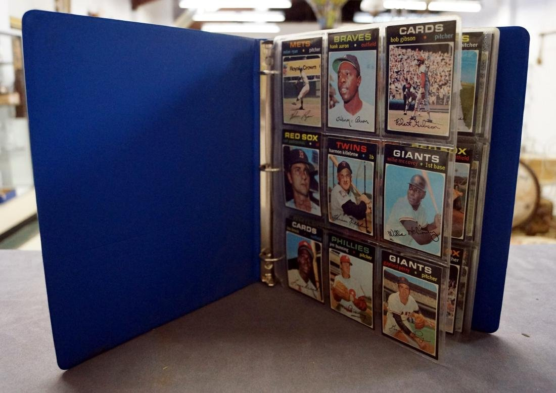 LOT (119) ASSORTED 1971 TOPPS BASEBALL CARDS INCLUDING