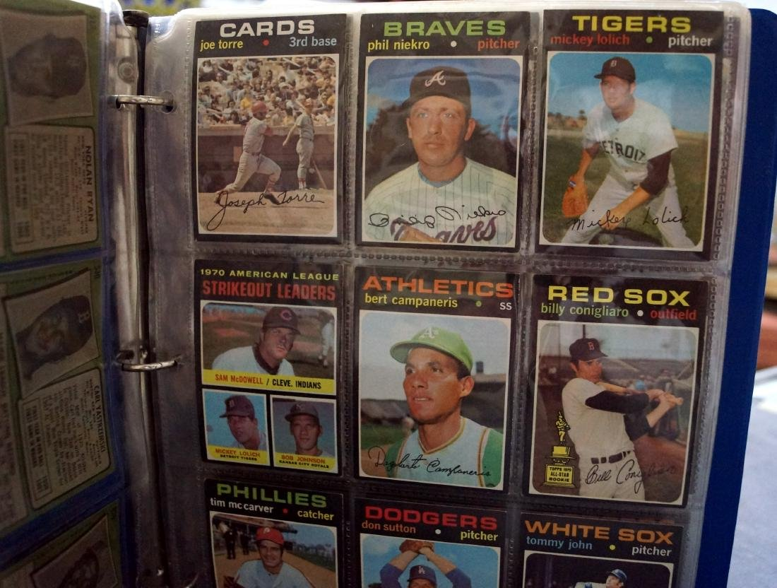 LOT (119) ASSORTED 1971 TOPPS BASEBALL CARDS INCLUDING - 2