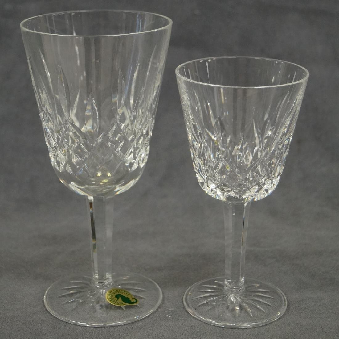 LOT (15) WATERFORD CRYSTAL INCLUDING (11) LISMORE
