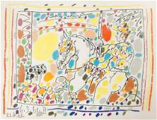 "PABLO PICASSO (SPANISH 1881-1973), LITHOGRAPH, ""LE"