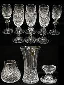 LOT 10 WATERFORD CRYSTAL INCLUDING LISMORE ALANA