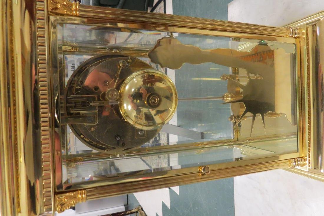 """THE LIBERTY CLOCK"""" CRYSTAL REGULATOR BY L'EPEE FRANCE, - 4"""