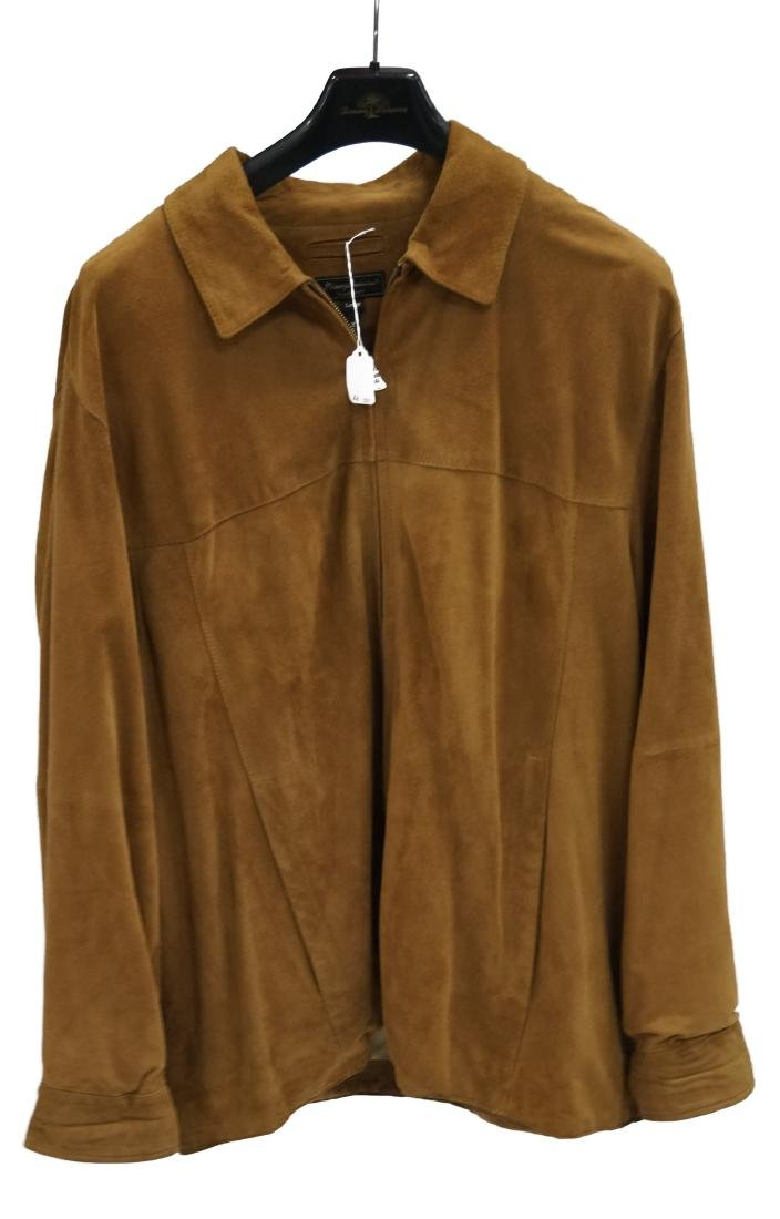TOMMY BAHAMA BUTTER SUEDE MEN'S JACKET (LARGE)