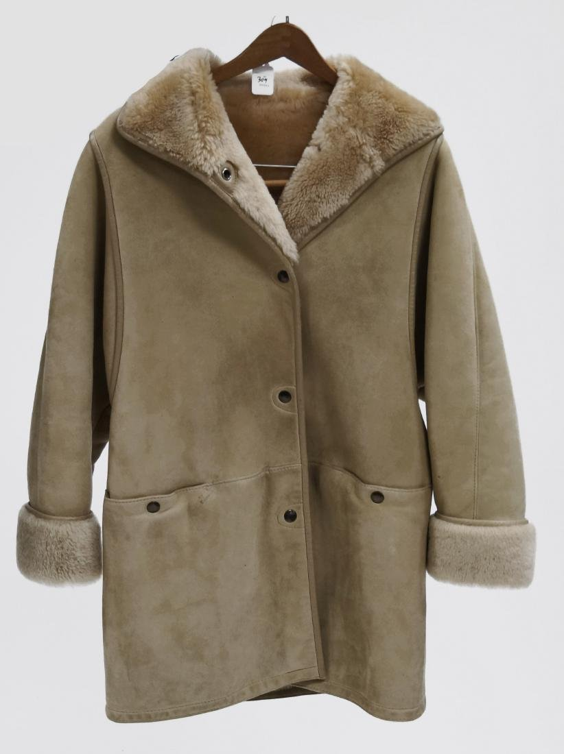 JEKEL/PARIS FOR BLOOMINGDALE'S, LADIES SHEEPSKIN