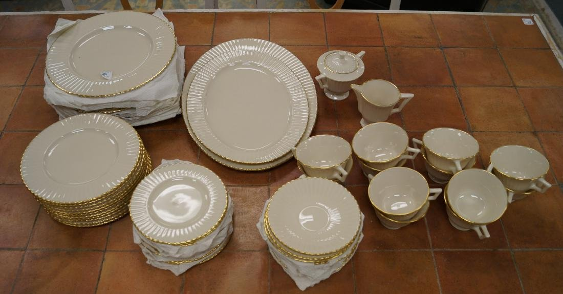 "LENOX ""SPECIAL"" PORCELAIN DINNER SERVICE FOR (10)"