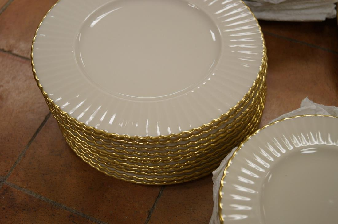 "LENOX ""SPECIAL"" PORCELAIN DINNER SERVICE FOR (10) - 2"