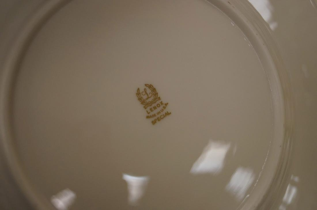 "LENOX ""SPECIAL"" PORCELAIN DINNER SERVICE FOR (10) - 3"