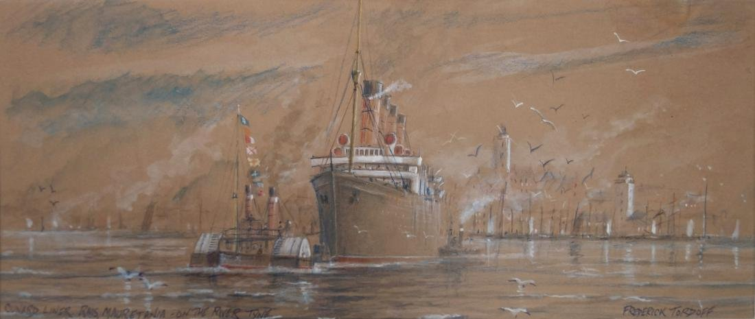 FRED TORDOFF (ANGLO/AMERICAN 20TH CENTURY), WATERCOLOR,