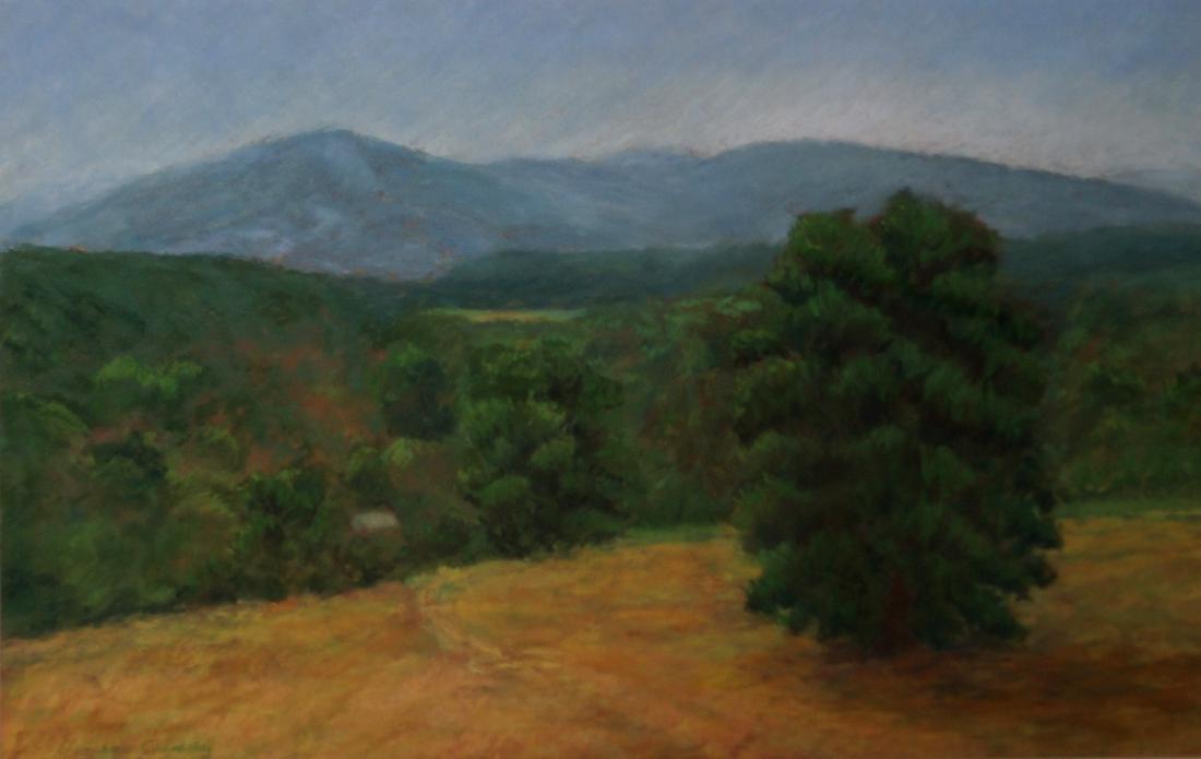 LINDA CADDY (AMERICAN 20TH CENTURY), PASTEL, THE