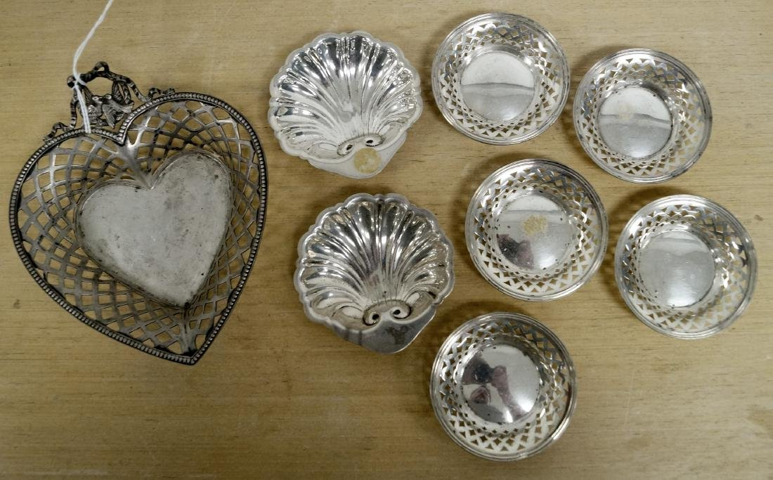 LOT (8) STERLING/800 SILVER INCLUDING GERMAN 800 SILVER