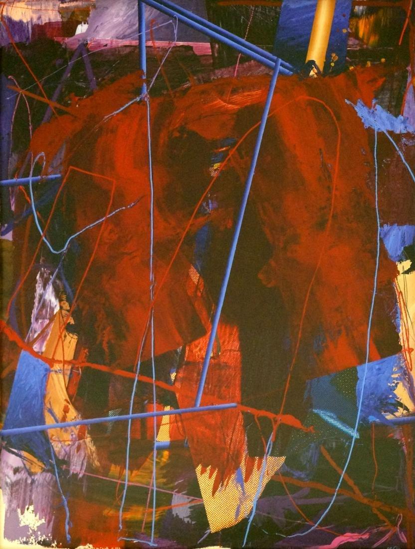 RICHARD JOHNSON (AMERICAN/LOUISIANA 1942-) ACRYLIC AND