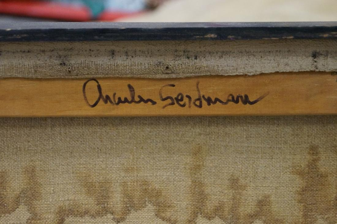 CHARLES SEIDMAN (AMERICAN 1942-), LOT (2) OIL ON - 2